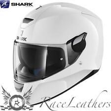 SHARK D-SKWAL BLANK WHITE MOTORCYCLE MOTORBIKE BIKE HELMET & PINLOCK INSERT