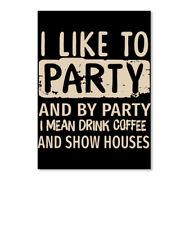 In style I Like To Party Sticker - Portrait Sticker - Portrait