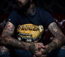 La marca del diablo [deuces Wild] t-shirt Kustom Kulture rockabilly Hot Rod 666