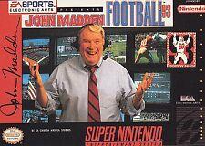 John Madden Football '93, Acceptable Video Games
