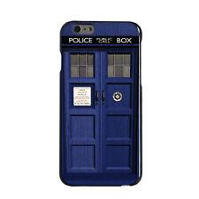 Custom Hard Case Cover for iPhone 5 5S 6 6S PLUS London Police Call Box TARDIS