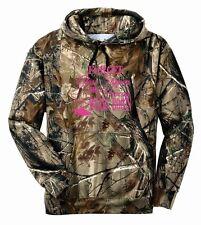 Princess Wears Boots Cowboy Camo Hoodie Country Girl Deer Outdoor Hunt Ladies