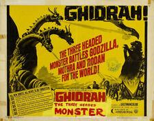 Ghidrah the 3 headed monster Japanese movie poster #3