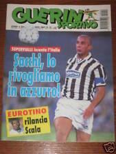 GUERIN SPORTIVO 1995/9=LE MILLE MAGLIE GENOA LAZIO ROMA=AYRTON SENNA=VIALLI=