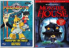 Medabots Vol. 1: Transport Metabee! & Monster House