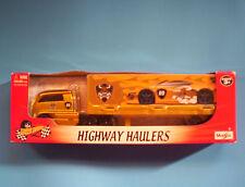 Maisto Snorting Bull #09 Highway Hauler Trailer Semi Truck
