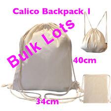 Bulk Calico Bags Backpack Bulk Calico Library Bag 34*40cm Tote Bag 200-400 Bags