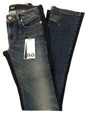 D&G by Dolce & Gabbana Jeans, Damen, Straight Leg, blau, Gr. 24 NEU! UVP 310€!