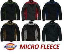 Dickies Two Tone Micro Fleece Jumper JW7011 - 6 Colours - S - XXXL