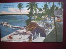 POSTCARD CENTRAL AMERICA CARIBBEAN OCHA RIOS - SILVER SEA HOTEL