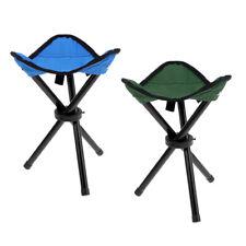 Camping Fishing Travel Portable Foldable Tripod Folding Seat Stool Chair
