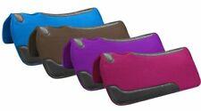 Showman Trail Barrel  Felt Horse Saddle PAD Wear Leathers Blue Pink Purple Brown