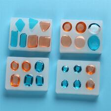 DIY Silicone Molds Geometric Crystal Jewelry Pendant Resin Handmade Molds ToolST