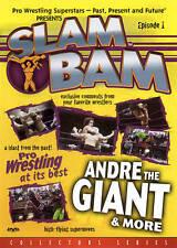 Slam Bam Episode 1 - Andre The Giant-DVD-WRESTLING-WWE-WWF-WCW-NO PAPER INSERT