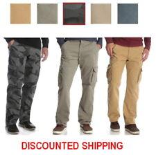 NEW Wrangler Cargo Pant Tech Pocket Flex Waistband  Men's