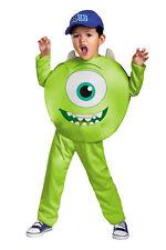 Mike Classic Child Costume Disney Pixar Monsters University Jumpsuit Disguise