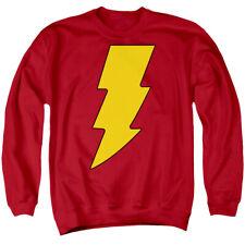 DC SHAZAM LOGO Men's Sweatshirt Crewneck