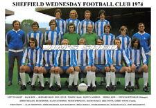 SHEFFIELD WEDNESDAY FC TEAM PRINTS 1970's (1971/1972/1974/1978/1979)