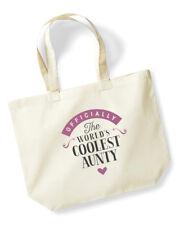 Aunty Birthday Gift Christmas Tote Shopping Bag Keepsake Present Handbag I Love