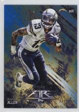 2014 Topps Fire Blue #78 Keenan Allen San Diego Chargers Football Card