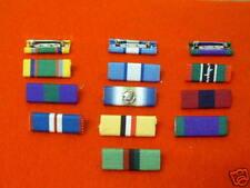 MEDAL RIBBON BARS (Pin Type) Singles or Multiple Orders