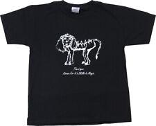 Adult Men's Napoleon Dynamite Comedy Movoe Liger (Lion/Tiger) Black T-shirt Tee