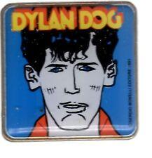 Spilla Gadget Dylan Dog (blu) Auguri Mondadori 1991