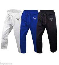 BJJ Pants Jiu-Jitsu Pants Martial Art Pants BLUE, WHITE OR BLACK