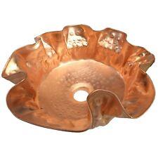 Polished Unique Artistic Pure Copper Vessel Sink