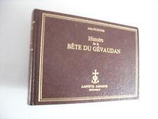 POURCHER LA BETE DU GEVAUDAN LAFITTE REPRINT TIRAGE LIMITE 500EX 1981 RARISSIME