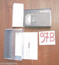 Cassetta VHSC VHS C VideoCassetta VIDEO SONY 30 vacanze BOSTON NEW YORK 1997