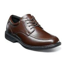 Men's shoes Nunn Bush Bourbon Street Brown Comfort lace up Leather EVA 84355-200