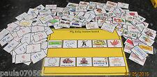 Neuf! pare-chocs pack! pec's visual communication cartes x 125 idéal ~ autisme ~ asd ~ sen ~