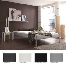 Metallbett + Nachttisch Farbe und Größe nach Wahl Futonbett Nachtkonsole Simona