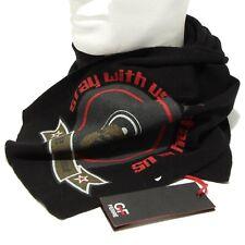 4240F sciarpa nera G. F. FERRE' LANA accessori uomo scarf men