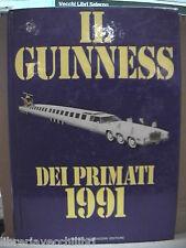 IL GUINNESS DEI PRIMATI 1991 Donald McFarlan Maurizio Orlandi Mondadori Annuario