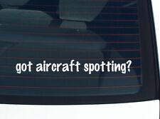 got aircraft spotting? AIRPLANE PLANE FUNNY DECAL STICKER ART WALL CAR CUTE