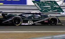 Calcas Bentley EXP Speed 8 Le Mans 2002 1:32 1:24 1:43 1:18 64 87 slot  decals