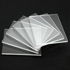 1MM, 1.5MM, 2MM & 3MM CLEAR PLASTIC PERSPEX ACRYLIC CUT SHEET A4 SIZE