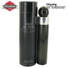 Perry Ellis 360 Black Cologne 6.8 oz 3.4 oz EDT Spray for MEN by Perry Ellis