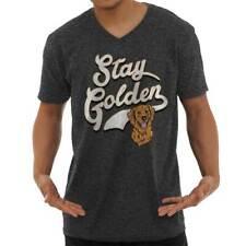 Stay Golden Funny Goldendoodle Lab Adorable Dog Puppy Gift V-Neck T Shirt