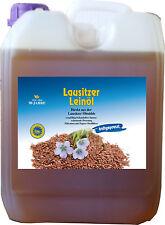 Leinöl 5 - 30 L Liter Kaltpressung frisch abgefüllt 100 % ohne Zusätze