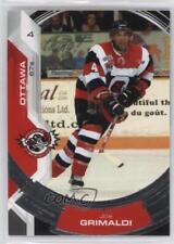 2006-07 Extreme Ottawa 67's #14 Joe Grimaldi (OHL) Rookie Hockey Card
