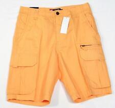Chaps Light Orange Cargo Shorts Mens NWT