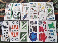 Creative Memories 2x5 Studio Sticker Strips U Choose One~Golf~Soccer~Hockey New