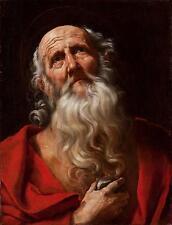 Guido Reni  - Saint Jerome Giclee Canvas Print