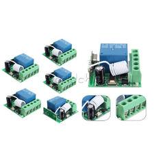 1/2/5/PCS 1CH 433MHZ DC12V 10A Wireless Relay RF Remote Control Switch Receiver