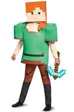 Brand New Minecraft Alex Deluxe Child Costume
