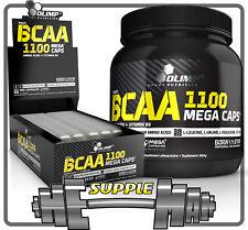Olimp BCAA 1100mg Mega Caps Extreme Anticatabolic Amino Acids 30-300Caps