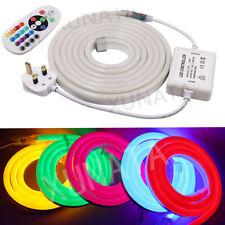 Outdoor Flex LED Neon Light SMD 2835 Waterproof LED Strip rope Light 220V 230V